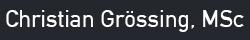 Christian Grössing Logo